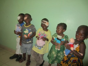 teddies in Abidjan