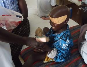 teddy in Gulu, Uganda